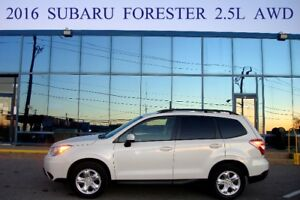 2016 Subaru Forester AWD, Off-Lease, One Owner, No Accident