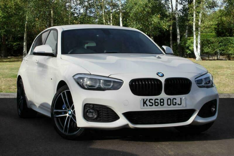 2018 Bmw 1 Series 118d M Sport Shadow Edition 5 Door Diesel White Manual In Milton Keynes Buckinghamshire Gumtree