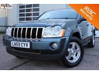 2009 59 JEEP GRAND CHEROKEE 3.0 V6 CRD LIMITED 5D AUTO 215 BHP! P/X WELCOME! DVD