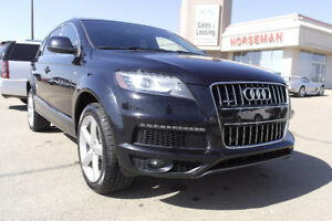 2012 Audi Q7 3.0L Premium SPORT- AWD, Leather, Nav- $29,553