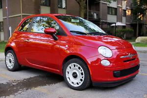 2013 Fiat 500 Pop manuelle 5 vitesses impeccable 60 000 km