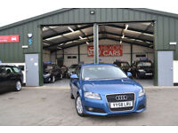2009 Audi A3 1.9TD DIESEL MANUAL Sportback BLUE FULL AUDI SERVICE HISTORY