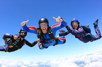 A discounted chance for a SKYDIVING with DVD record of your Jump