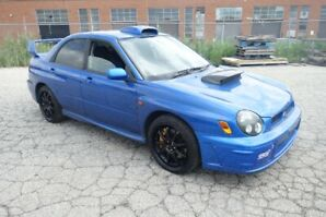 Subaru WRX Sti RHD Car | Work Wheels | Roof Scoop | Fully Loaded
