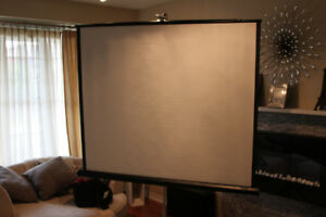 "60"" x 60"" Projection Screen"