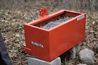 KUBOTA BALLAST BOX B5320