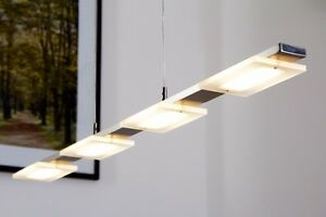 Lampe suspension plafonnier moderne led lustre clairage - Lampes de cuisine suspension ...