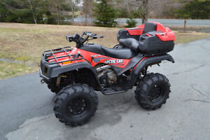 2004 Arctic Cat 4 X 4 400i AND 4 x 8 Trailer Package
