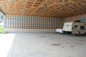 INDOOR VEHICLE STORAGE (Cars, Trailers, Boats, RV's, 5th Wheels)