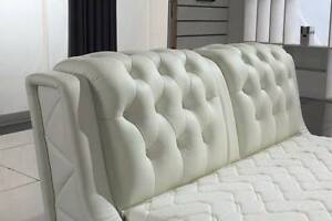 【Brand New】Luxury Real Leather In Queen/King Bed Springvale Greater Dandenong Preview