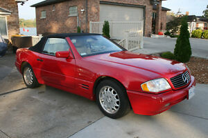 1998 500SL Mercedes convertible
