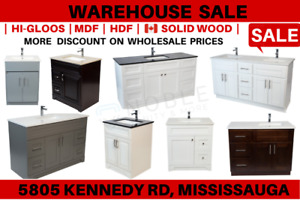 Bathroom Vanity and Bathroom Products WAREHOUSE  SALE