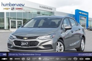 2017 Chevrolet Cruze LT Auto BACKUP CAM|HEATED SEATS|SUNROOF