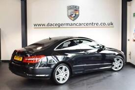 2013 13 MERCEDES-BENZ E CLASS 2.1 E220 CDI BLUEEFFICIENCY SPORT 2DR AUTO 170 BHP