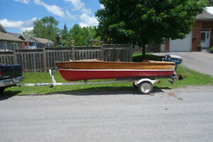 1957 Lakefield Mohawk Cedar Strip Boat For Sale!