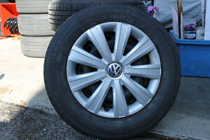 VW rims and tires 195/65/15