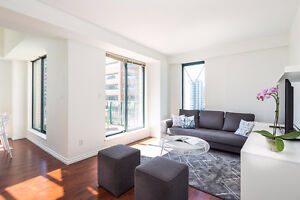 Fully Furnished with Balcony - 3-7 Month Flexible Lease #672