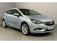 2017 Vauxhall Astra 1.4T 16V 150 SRi 5dr Auto HATCHBACK Petrol Automatic