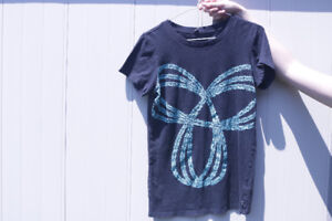 Black and Turquoise TNA T-shirt