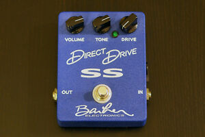 Barber Direct Drive : Barber Electronics Direct Drive SS for sale amps, pedals City of ...