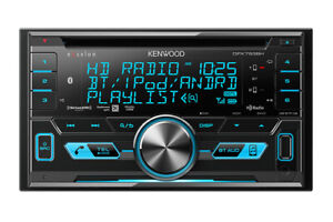 Kenwood Excelon Dual Din CD Receiver With USB Interface DPX793BH