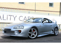 Toyota Supra RZ SUPER HIGH SPEC TWIN TURBO MANUAL 6 SPEED 580 BHP+NITROS OXIDE