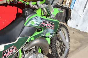 2001 KX 65r Rebuilt Factory Race Bike From Kawasaki