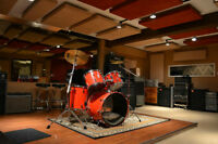 Drum Lessons at Professional Studio