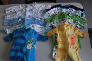 Lot pyjama nouveau-né newborn garçon