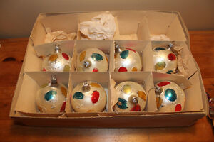 Vintage Boxes of Glass Christmas Ball Ornaments #1 London Ontario image 4