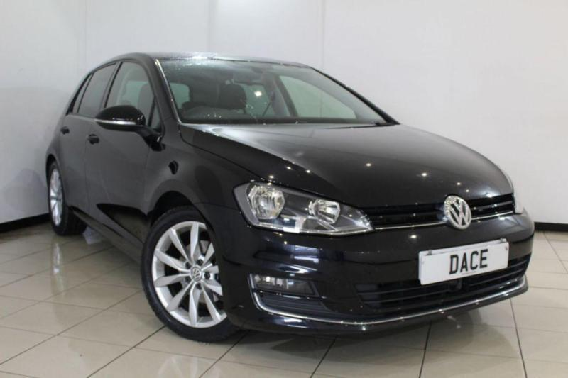 2013 62 VOLKSWAGEN GOLF 2.0 GT TDI BLUEMOTION TECHNOLOGY 5DR 148 BHP DIESEL