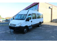 Iveco Daily NEW SHAPE MINIBUS TRANSIT MERCEDES SPRINTER COIF COMPLIANT 16 SEATER