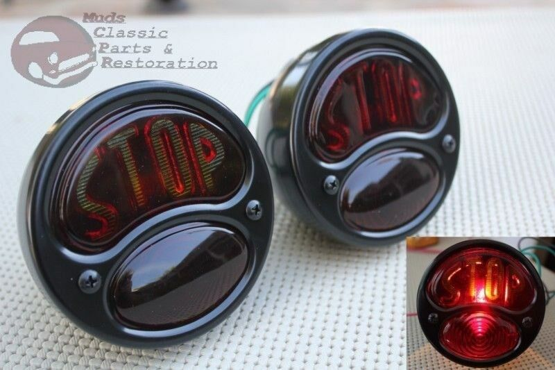 Custom Car Truck Rear Brake Stop Taillamp Lights Model A B
