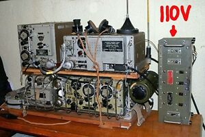 WW2 WS19 WWII HP Amp Wireless Set No 19 Transiever and PSU