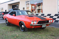 Dodge Challenger 1973  -340pc 4 vitesses manuelle-