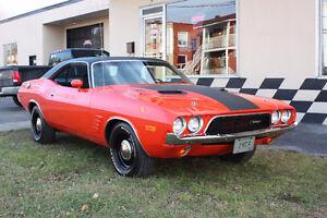 Dodge Challenger 1973  -340pc 4 vitesses manuelle-