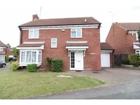 ** DETACHED 4 BEDROOM HOUSE, AVAILABLE IMMEDIATELY, IN THE BUSHMEAD AREA**