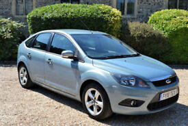Ford Focus 1.6TDCi 110 2010 Zetec, 67K MILES, FORD FULL S/HISTORY, JAN MOT