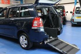 Vauxhall/Opel Zafira PETROL Wheelchair accessible vehicle disabled mobility car