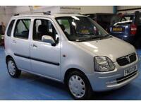 Vauxhall/Opel Agila 1.2i 16v SE 2002MY Club