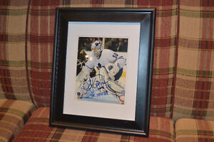 "Jonas ""The Monster"" Gustavsson signed Leafs Picture Kawartha Lakes Peterborough Area image 1"