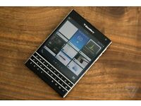 Almost new Blackberry passport less than two months old