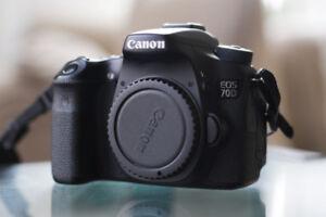 Canon 70d - ~17,000 Shutter Count