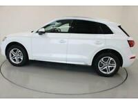 2017 WHITE AUDI Q5 2.0 TDI 190 QUATTRO SE AUTO ESTATE CAR FINANCE FR £370 PCM