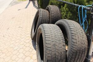 2 Goodyears like new  2 michelin lot of miles on them