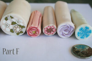 9 original unbaked polymer clay canes made by artist Kitchener / Waterloo Kitchener Area image 3