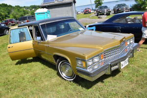 1978 Cadillac Hearse for Sale, NEED GONE!
