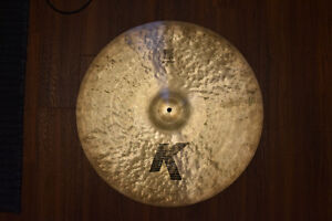 "22"" Zildjian K ride"