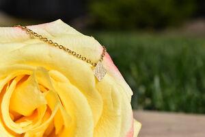 Gold Diamond Necklace- Brand New & Etsy Shop Necklace