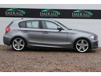 2011 11 BMW 1 SERIES 2.0 118D M SPORT 5D 141 BHP DIESEL